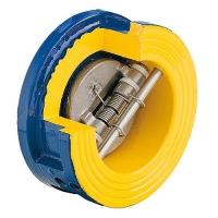 Zetkama 407 - обратный клапан межфланцевый двухстворчатый
