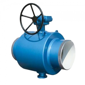 Кран шаровый полнопроходной приварной для воды Efar wk6c
