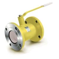 Кран шаровый фланцевый стандартнопроходной для газа