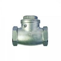 Обратный поворотный муфтовый клапан C 100