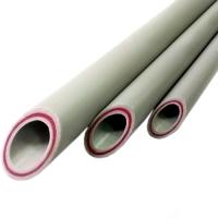 Полипропиленовая труба PP-R-GF для горячей воды 20 bar (стекловолоконная прослойка)